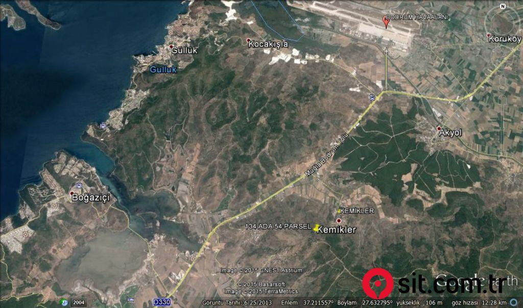Satılık Emlak - Zeytinlik MUĞLA, MİLAS, KEMİKLER KÖYÜ 9210 m² 460,000