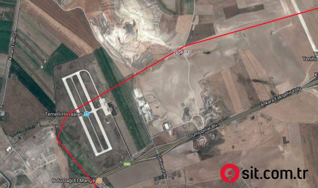 Satılık Emlak - İmarlı Arsa ANKARA, SİNCAN, TEMELLİALAGÖZ MAH. 1282 m² 550,000